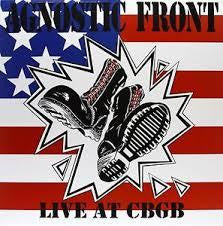 AGNOSTIC FRONT-LIVE AT CBGB LP *NEW*