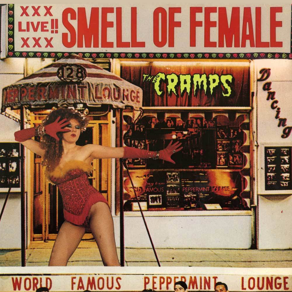 CRAMPS THE-SMELL OF FEMALE LP *NEW*