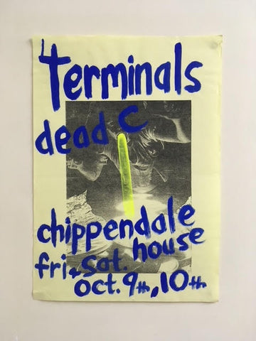 TERMINALS DEAD C AT CHIPPENDALE ORIGINAL POSTER
