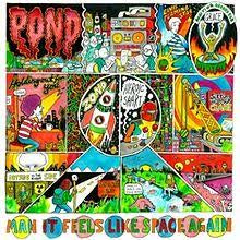 POND-MAN IT FEELS LIKE SPACE AGAIN LP EX COVER EX