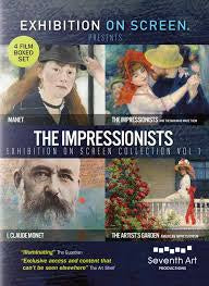 THE IMPRESSIONISTS-EXHIBITION ON SCREEN COLLECTION VOL 1  BOXSET 4DVD *NEW*