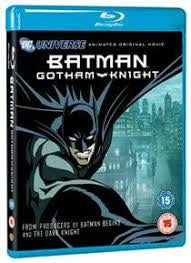 BATMAN GOTHAM KNIGHT BLURAY VG+