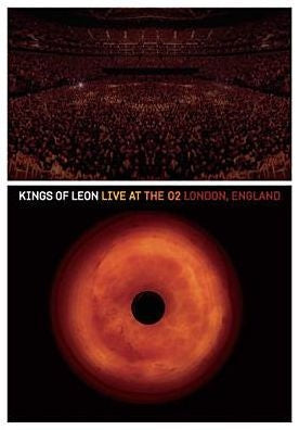 KINGS OF LEON-LIVE AT THE 02 LONDON, ENGLAND REGION 1DVD  VG
