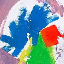 ALT-J-THIS IS ALL YOURS BLUE/ YELLOW VINYL 2LP VG+ COVER VG+