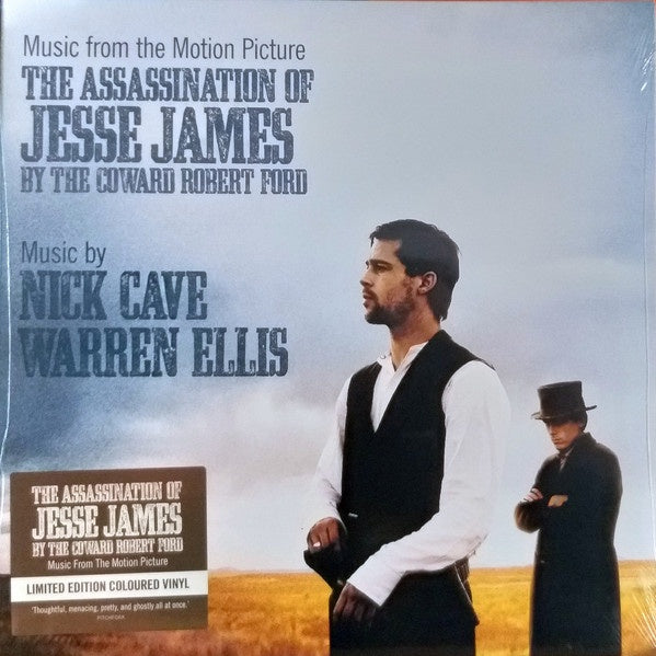 CAVE NICK & WARREN ELLIS-THE ASSASSINATION OF JESSE JAMES BY THE COWARD ROBERT FORD WHISKEY VINYL LP *NEW*