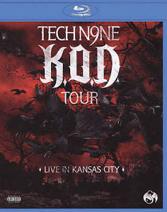 TECHN9NE-KOD TOUR LIVE KANSAS CITY BLURAY *NEW*