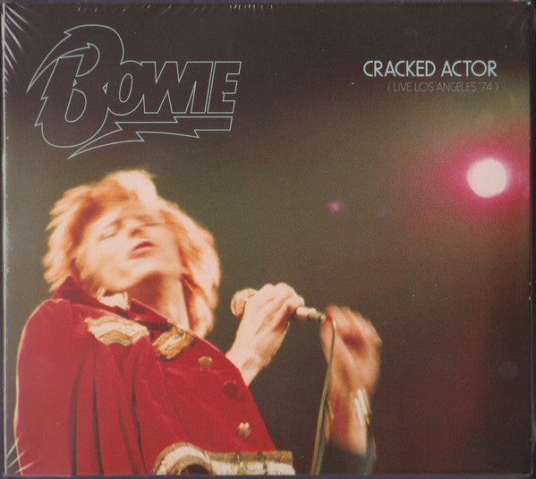DAVID BOWIE-CRACKED ACTOR 2CD VG