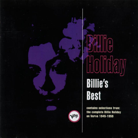 HOLIDAY BILLIE-BILLIE'S BEST CD VG