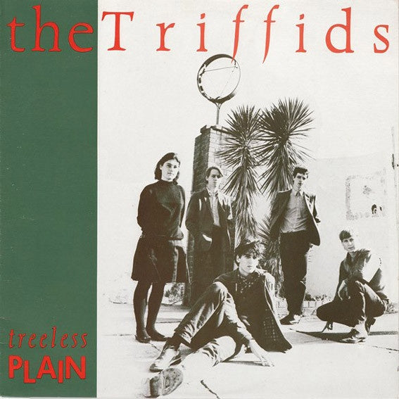 TRIFFIDS THE-TREELESS PLAIN LP EX COVER VG+