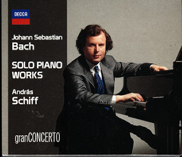 BACH JS-SOLO PIANO WORKS ANDRAS SCHIFF 12CD *NEW*