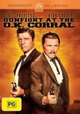 GUNFIGHT AT THE O.K. CORRAL DVD VG+