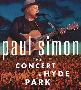 SIMON PAUL-THE CONCERT IN HYDE PARK 2CD+BLURAY *NEW*