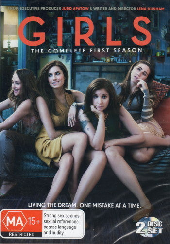 GIRLS-THE COMPLETE FIRST SEASON 2DVD VG