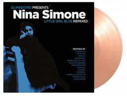 DJ MAESTRO PRESENTS NINA SIMONE LITTLE GIRL BLUE REMIXED-VARIOUS ARTISTS PINK VINYL 2LP *NEW*