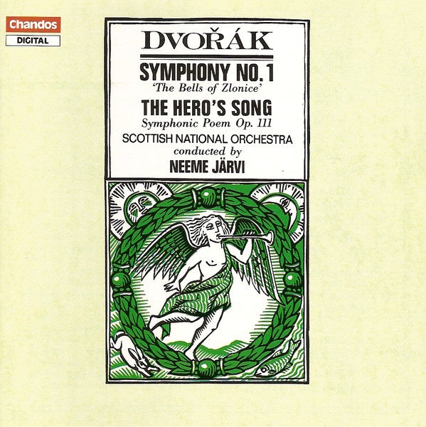DVORAK-SYMPHONY NO 1 / THE HERO'S SONG CD VG
