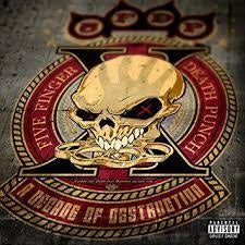 FIVE FINGER DEATH PUNCH-A DECADE OF DESTRUCTION CD *NEW*