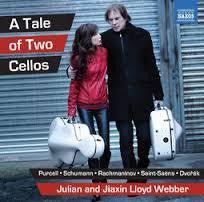 LLOYD WEBER JULIAN AND JIAXIN-A TALE OF TWO CELLOS CD *NEW*