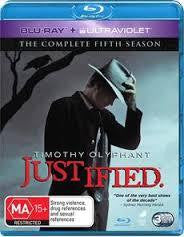 JUSTIFIED-SEASON FIVE 3BLURAY VG+