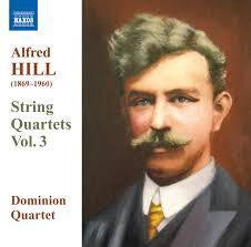HILL ALFRED - STRING QUARTETS VOL 3 CD VG