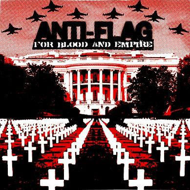 ANTI FLAG-FOR BLOOD AND EMPIRE CD VG