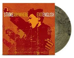 STRIKE ANYWHERE-EXIT ENGLISH CLEAR/ BLACK VINYL LP *NEW*