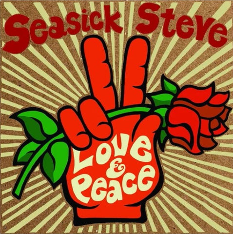 SEASICK STEVE-LOVE & PEACE LP *NEW*