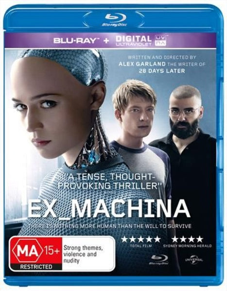 EX MACHINA R13 BLURAY VG