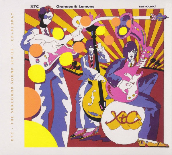 XTC-ORANGES & LEMONS CD + BLURAY *NEW*