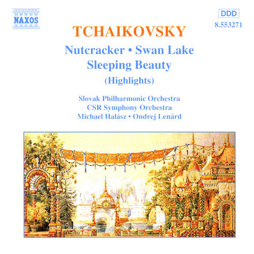 TCHAIKOVSKY-SWAN LAKE NUTCRACKER SLEEPING BEAUTY CD *NEW*