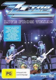 ZZ TOP-LIVE FROM TEXAS DVD *NEW*