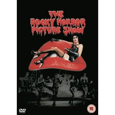 THE ROCKY HORROR PICTURE SHOW  REGION 2 DVD VG+