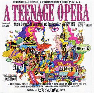 A TEENAGE OPERA-VARIOUS ARTISTS CD VG