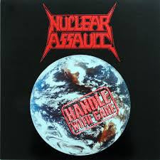 NUCLEAR ASSAULT-HANDLE WITH CARE LP EX COVER VG+
