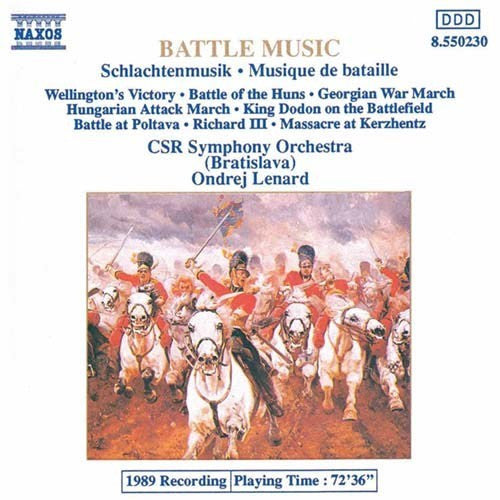 BATTLE MUSIC CD VG