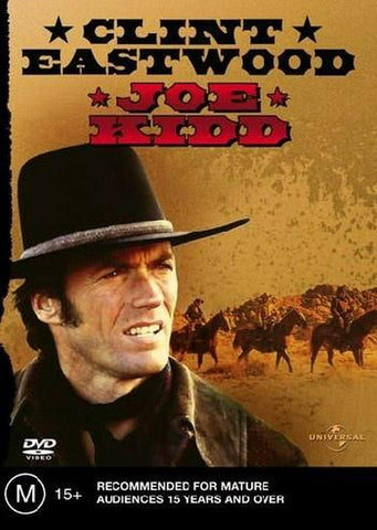 JOE KIDD DVD VG+