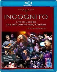 INCOGNITO-LIVE IN LONDON 30TH ANNIV BLURAY *NEW*