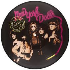 NEW YORK DOLLS-LIVE AT RADIO LUXEMBOURG, PARIS 1973 PICTURE DISC LP NM