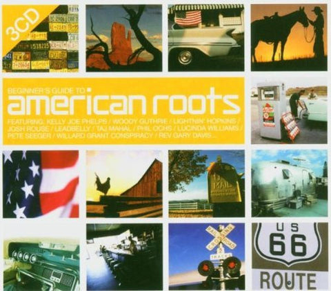 BEGINNER'S GUIDE TO AMERICAN ROOTS-VARIOUS 3CD G