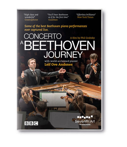 A BEETHOVEN JOURNEY LEIF OVE ANDSNES DVD *NEW*