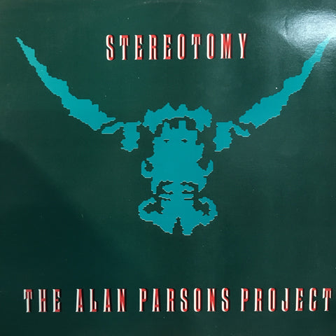 PARSONS ALAN PROJECT-STEREOTOMY LP EX COVER VG+