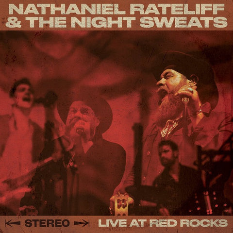 RATELIFF NATHANIEL & THE NIGHT SWEATS-LIVE AT RED ROCKS CD VG
