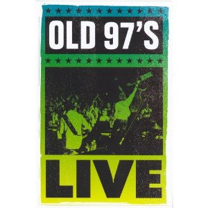 OLD 97S-LIVE DVD *NEW*