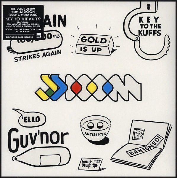 JJ DOOM-KEY TO THE KUFFS 2LP *NEW*