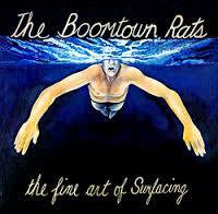 BOOMTOWN RATS THE-THE FINE ART OF SURFACING LP EX COVER VG+