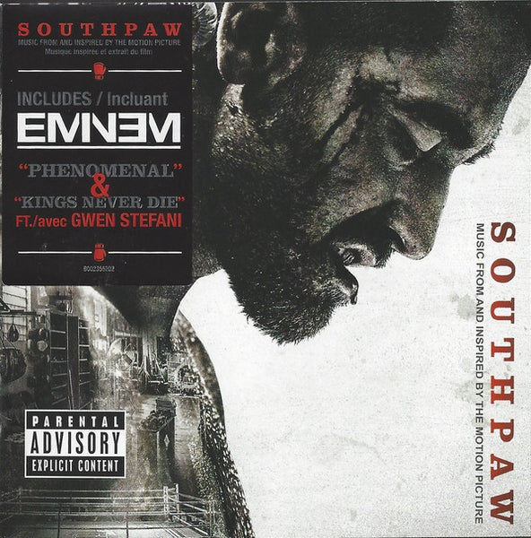 SOUTHPAW SOUNDTRACK-VARIOUS ARTISTS CD VG