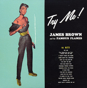 BROWN JAMES AND HIS FAMOUS FLAMES-TRY ME LP *NEW*
