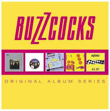 BUZZCOCKS-ORIGINAL ALBUM SERIES 5CD *NEW*