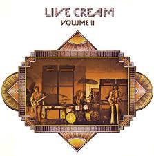 CREAM-LIVE CREAM VOLUME II LP VG+ COVER VG+