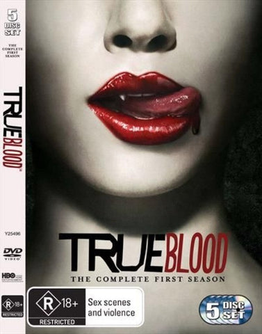 TRUE BLOOD THE COMPLETE FIRST SEASON R18 5DVD VG