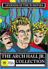 ARCH HALL JR COLLECTION DVD *NEW*